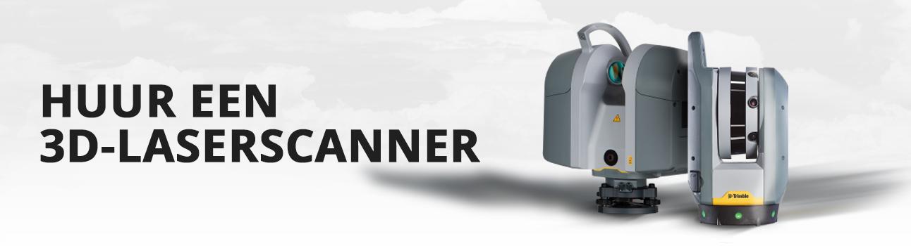 Laserscanner huren bij Visser Assen