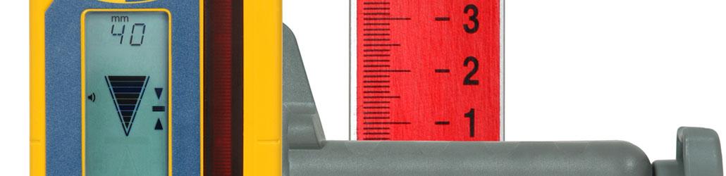 Laserontvanger met millimeterweergave | Visser Assen