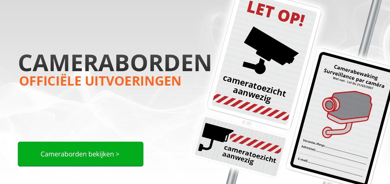 Bord camerabewaking kopen bij Verkeersborden.com