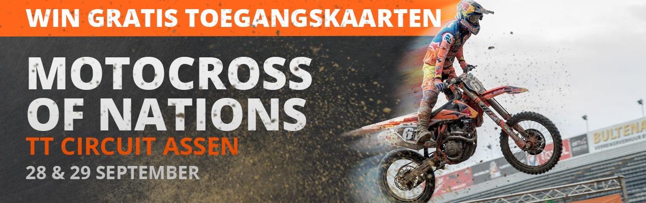 Banner Gratis toegang voor Motocross of Nations