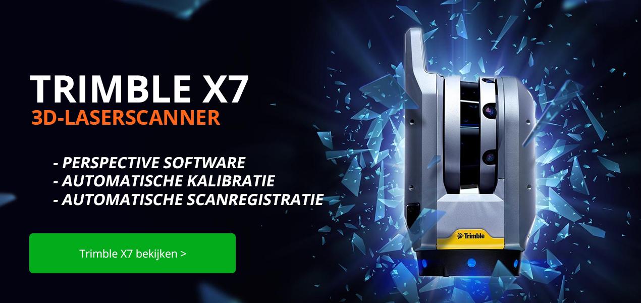 Trimble X7 3D-laserscanner