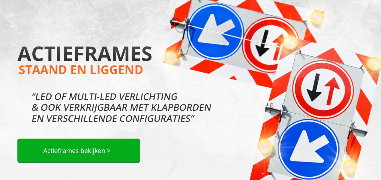 Actieframes - Actieramen bij Verkeersborden.com