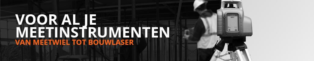 Bouwlaser.nl voor al je meerinstrumenten