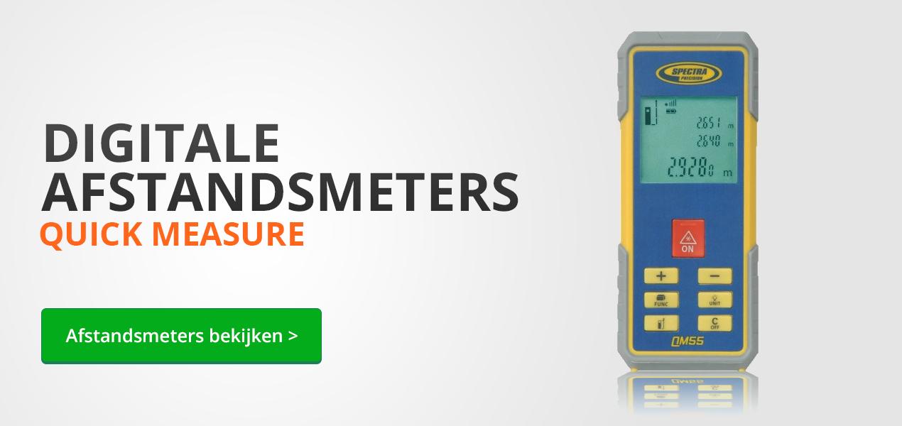 Digitale afstandsmeters bij Bouwlaser.nl