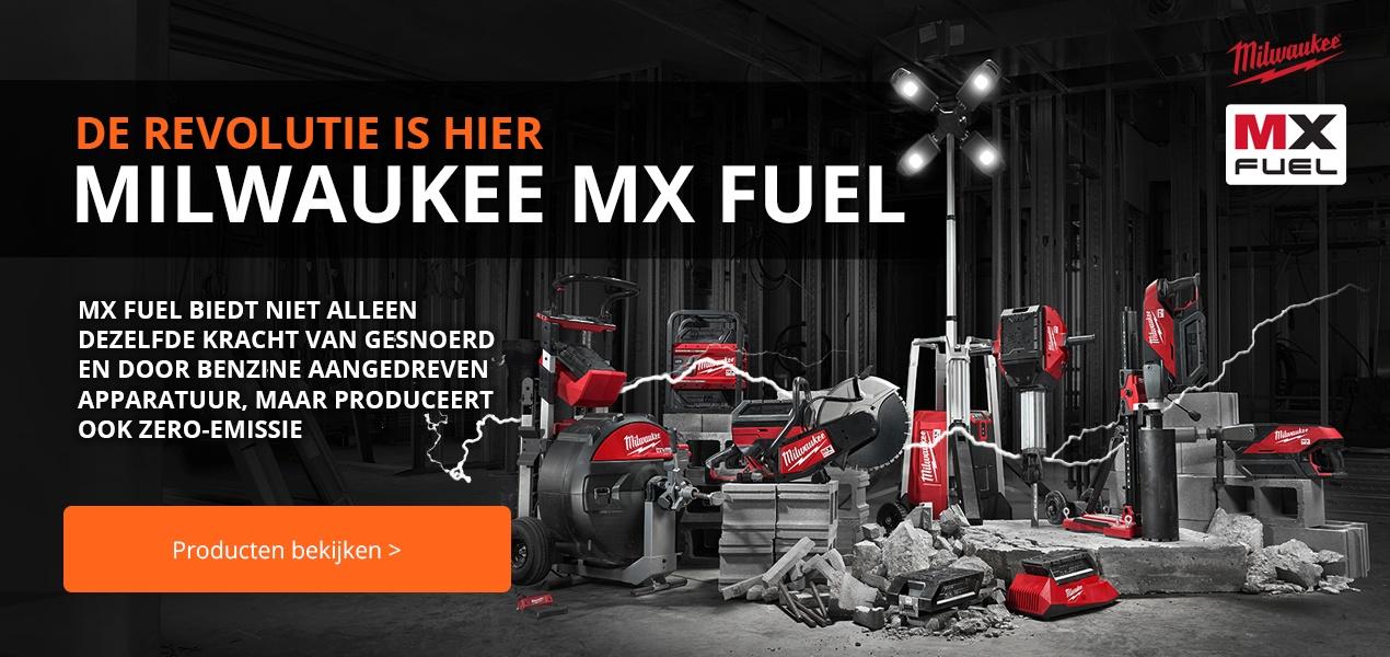 Milwaukee MX Fuel assortiment bij Visser Assen
