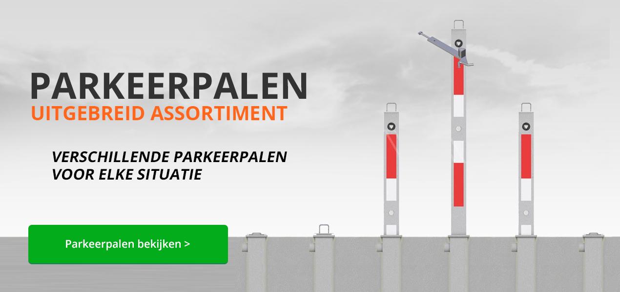 Parkeerpalen bij Verkeersborden.com