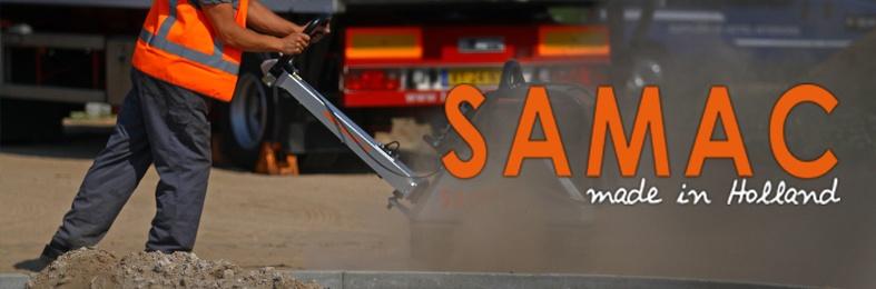 Samac trilplaten en trilstampers garantie en service