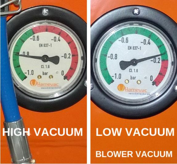 Laag of hoog vacuüm: het verschil | Visser Assen