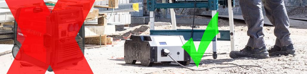 Aggregaat of Wattsun batterijsysteem: wanneer kan het uit? | Visser Assen