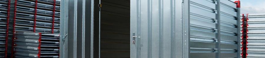 materiaalcontainer helpt diefstal vanaf de bouwplaats voorkomen