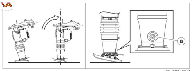 Wacker trilstamper peilglas | Visser Assen