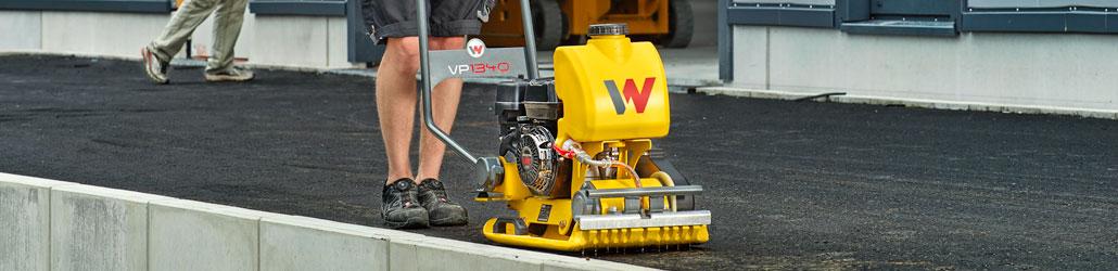 Trilplaat Wacker onderhouden en gebruiken   Visser Assen