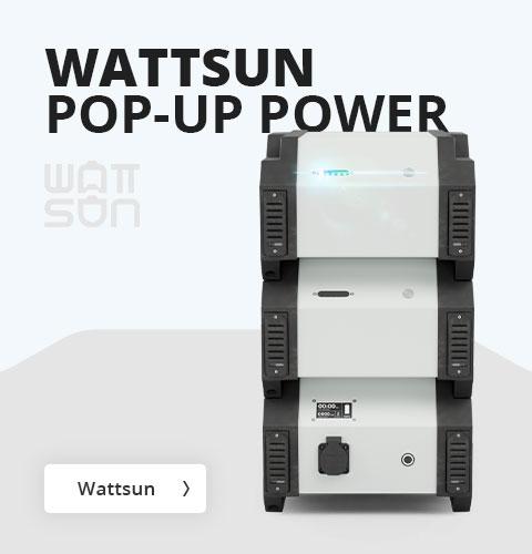 Wattsun Pop-up Power bij Visser Assen