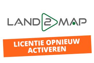 Licentie Land2Map opnieuw activeren