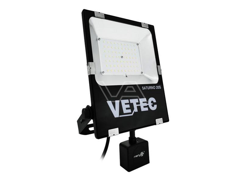 LED-bouwlamp Vetec 20 W kl1 Saturno 20S met sensor