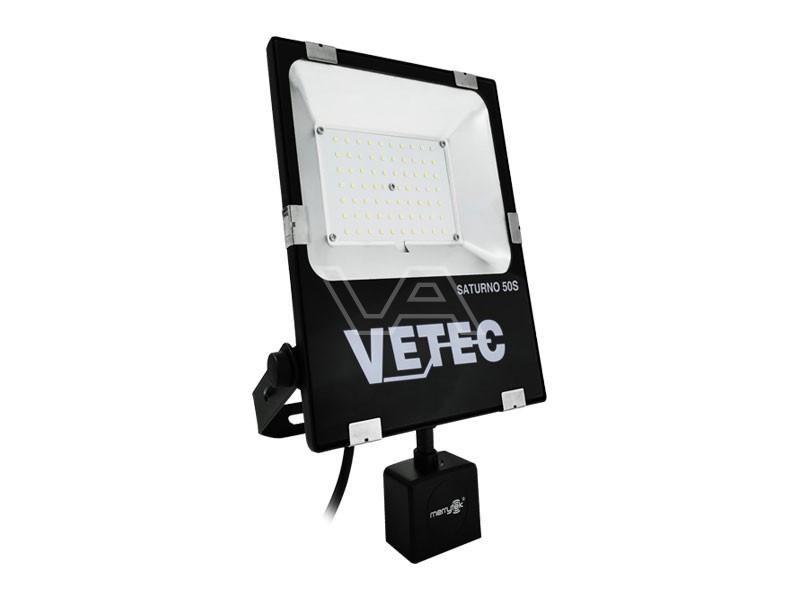 LED-bouwlamp Vetec 50 W kl1 Saturno 50S met sensor