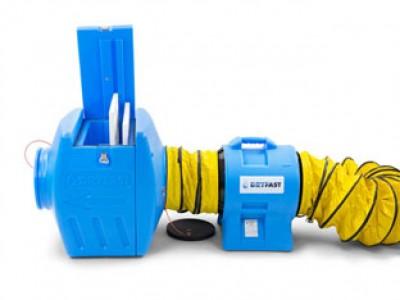 Stofafzuiging met Filterbox Dryfast FB300