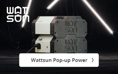 Wattsun Pop-up Power bij Visser Assen