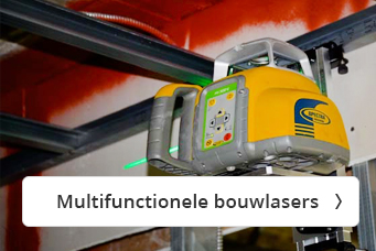 Multifunctionele bouwlasers bij Visser Assen