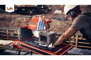 (VIDEO) Steenzaagmachine Norton Clipper CM 42