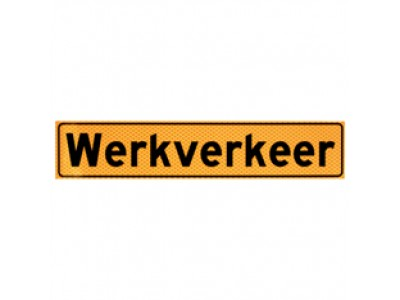 Werkverkeer-bordjes
