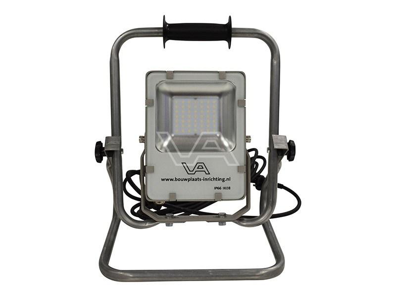 LED-bouwlamp 24 Watt SMD met grondstatief Prof