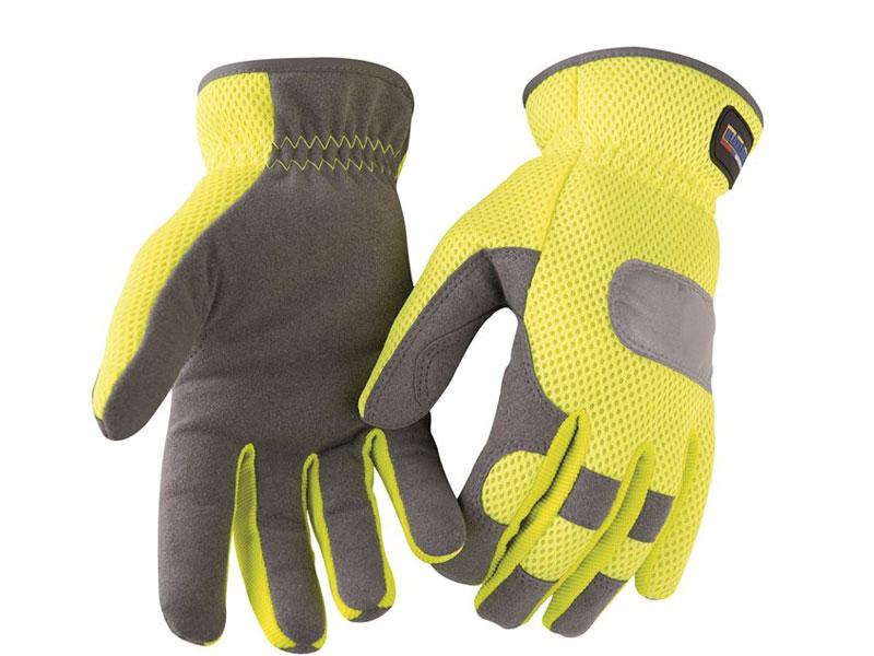 Handschoen Verkeersregelaar fluor geel BL2242