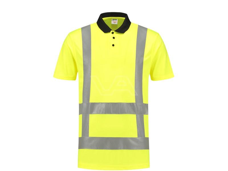 Poloshirt Tricorp RWS fluor geel