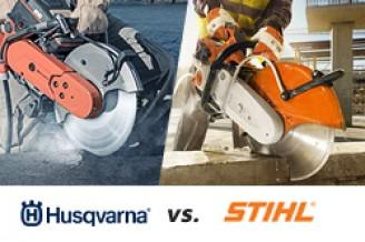 Husqvarna of Stihl: wie maakt de beste bandenzaag?