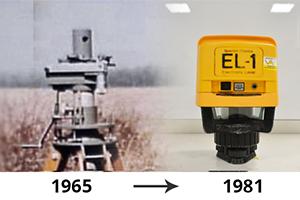 De evolutie van de bouwlaser