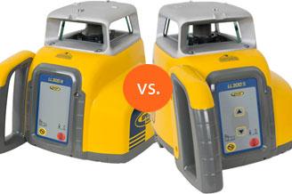 LL300N en LL300S bouwlaser van Spectra Precision: wat zijn de verschillen?