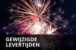 Gewijzigde levertijden i.v.m. feestdagen