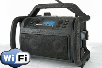 Internetradio's PerfectPro Audisse: WiFi-radio op de steiger