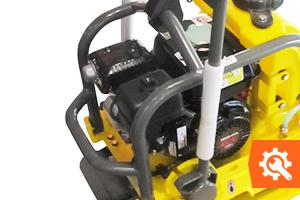 Hoe onderhoud je een Wacker-benzinetrilplaat?