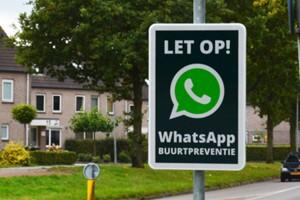 WhatsApp-buurtpreventie ongekend populair