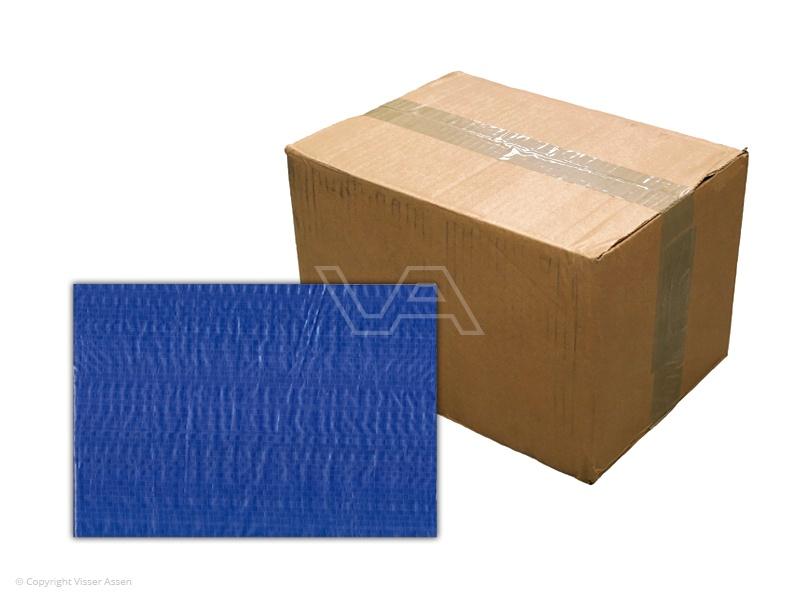 Bouwhekdoek blauw 1.76 x 3.41m | 20 stuks