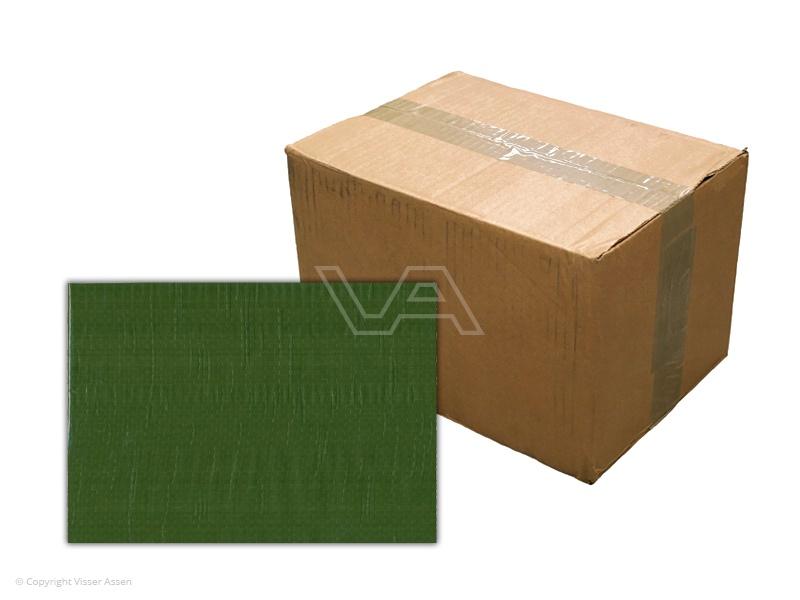 Bouwhekdoek groen 1.76 x 3.41m | 20 stuks