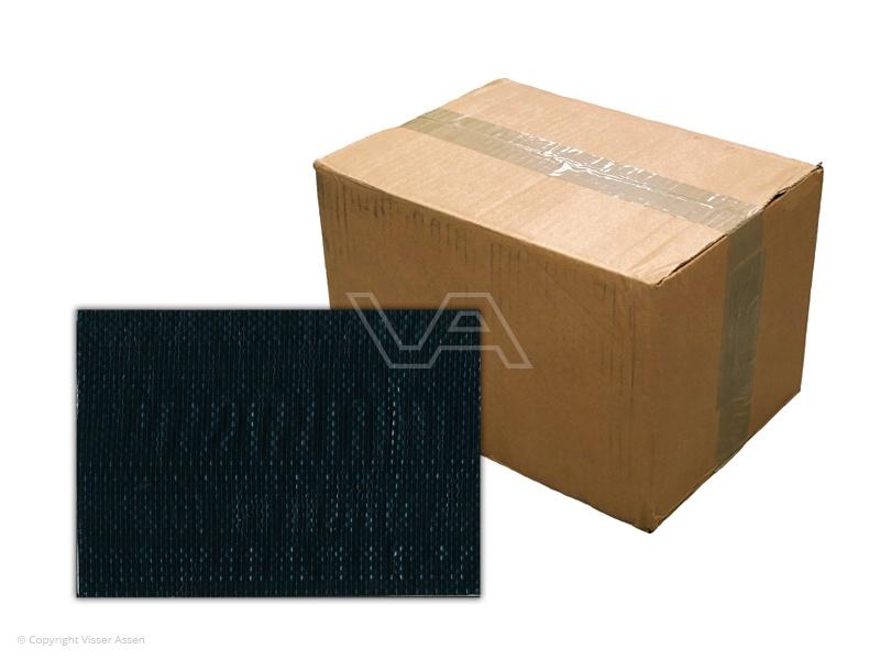 Bouwhekdoek zwart 1.76 x 3.41m | 20 stuks