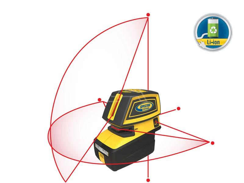Kruislijn- en puntlaser Spectra Precision LT52 R