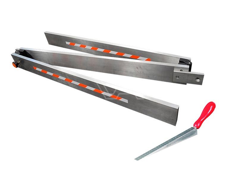 Afreilat inklapbaar aluminium 3 meter met meetwig