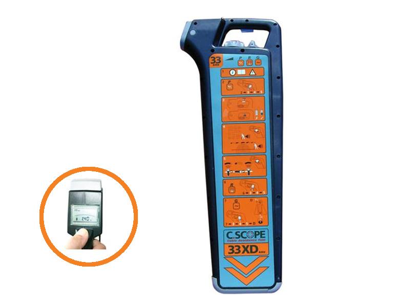 Kabeldetector C.Scope AT-XD