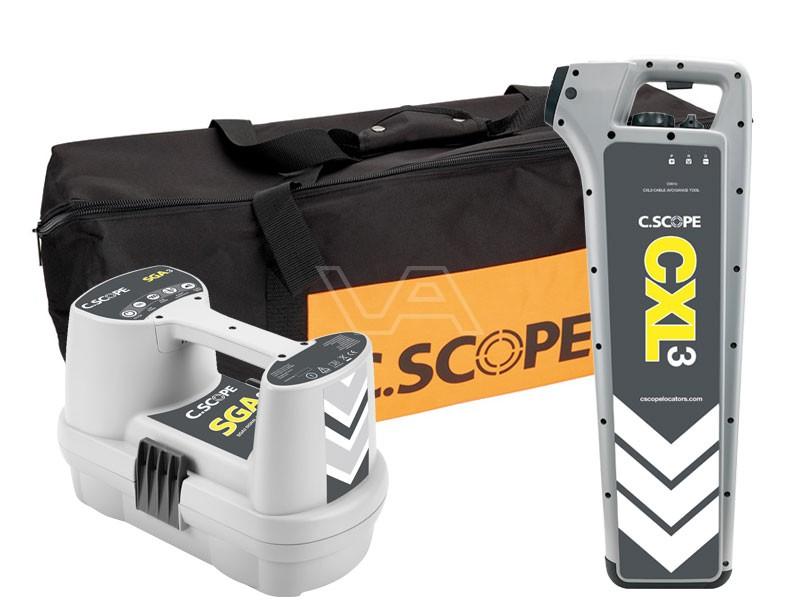 Kabelzoeker C.Scope CXL3 + SGA3 in tas