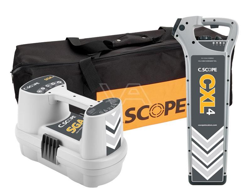 Kabelzoeker C.Scope CXL4-DBG + SGA4 in tas