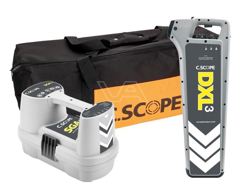 Kabelzoeker C.Scope DXL3 + SGA3 in tas