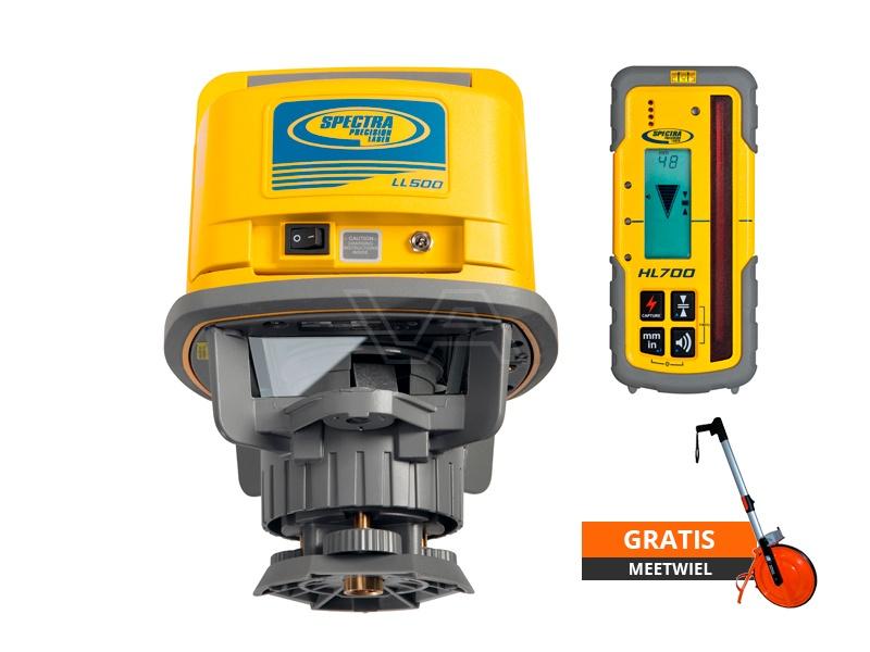 Bouwlaser Spectra Precision LL500 met GRATIS meetwiel