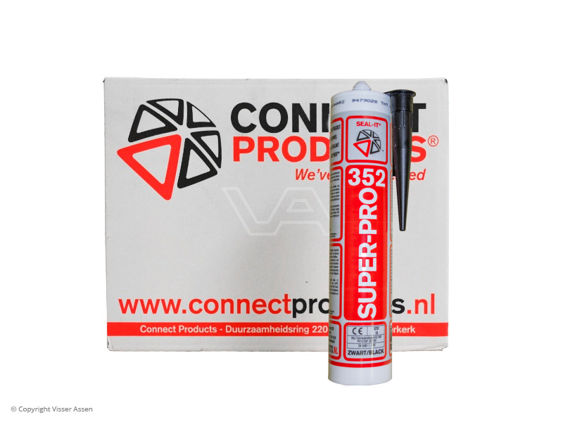 Montagekit Seal-it 352 SuperPro zwart 290 ml | 24  kokers