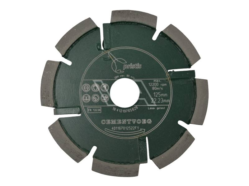 Cementvoegenfrees Pristis Laser groen