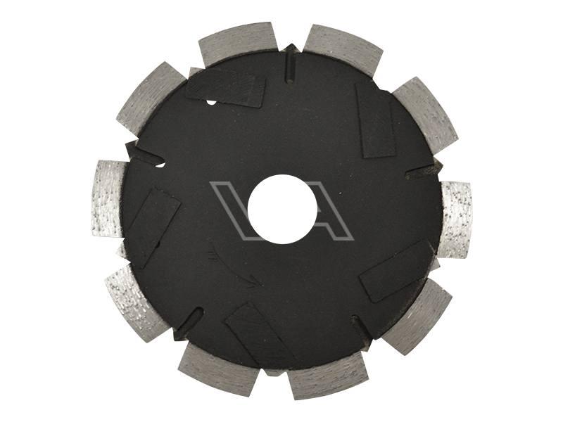 Cementvoegenfrees Pristis zwart