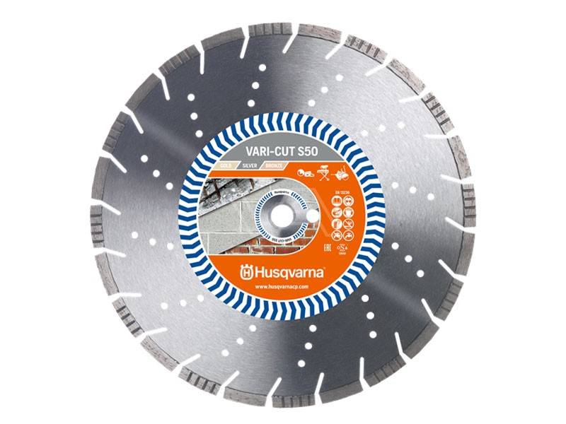 Diamantzaagblad Husqvarna Vari-Cut S50