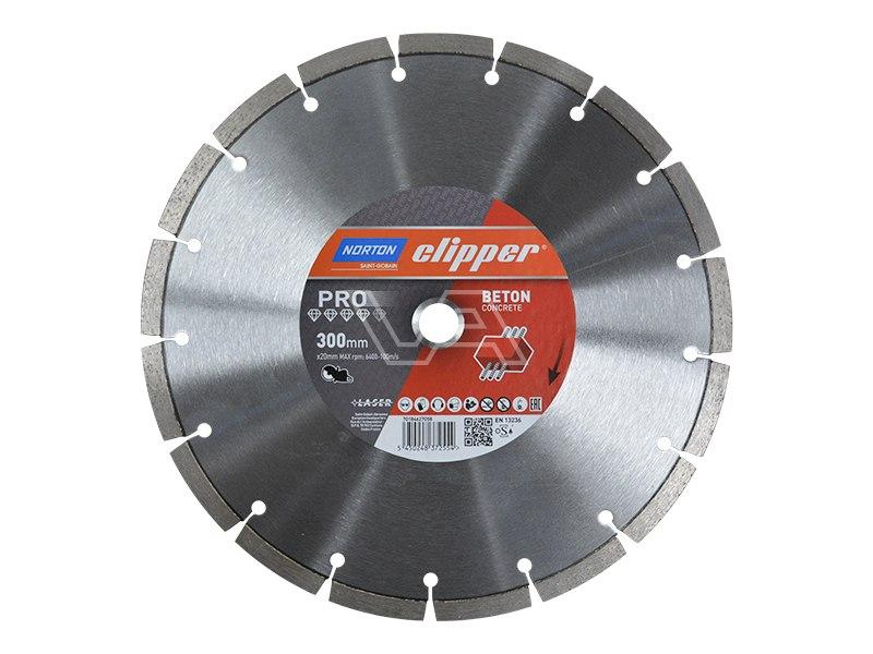 Diamantzaagblad PRO ZDH 500 - asgat 20 mm - Beton